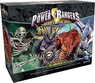 Renegade Game Studios Power Rangers: Heroes of The Grid Villian Pack #1