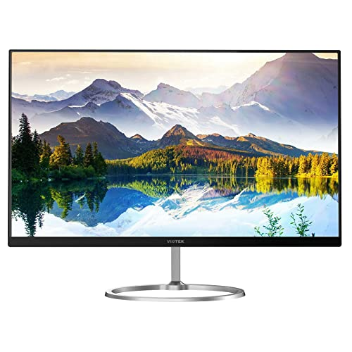 "24"" VIOTEK HA238 Ultra-Thin Computer Monitor – 1920x1080p with Bezel-Less Frame, 16:9 Widescreen & HDMI Connection"