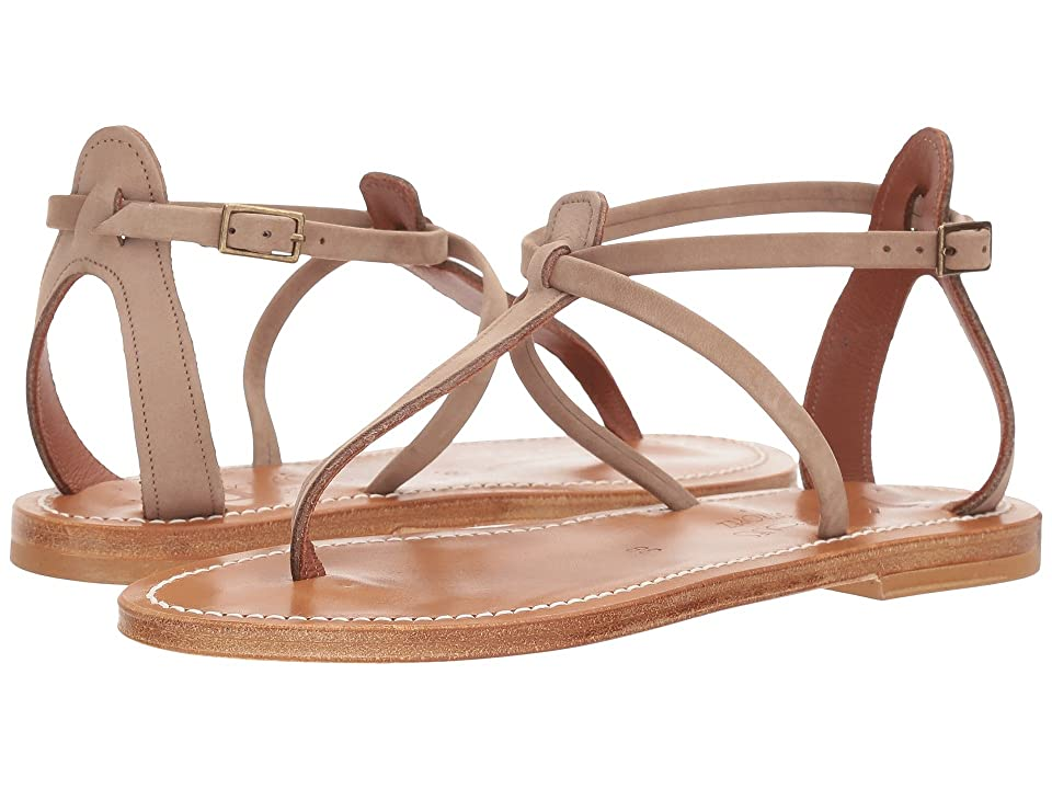 K.Jacques Buffon Nubuck Sandal (Costa Brown) Women