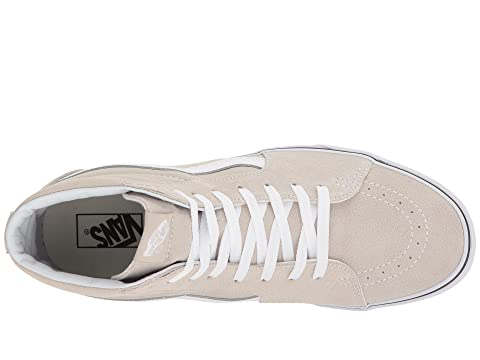 Hi blanco Vans Forro plateado verdadero SK8 fzwfq0B8U