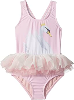 Rock Your Baby Swan Lake Tulle One-Piece (Toddler/Little Kids/Big Kids)