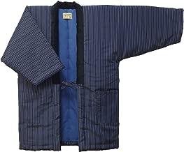 HANTEN (Cotton jacket made in Japan Kimono-style) Japanese clothes X-Large Size Men's