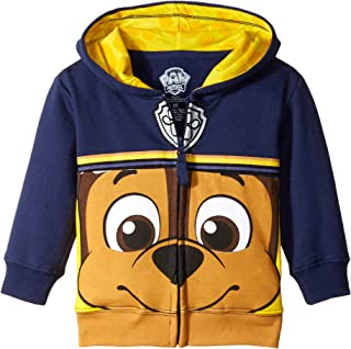 Paw Patrol Boys' Toddler Character Big Face Zip-up Hoodies