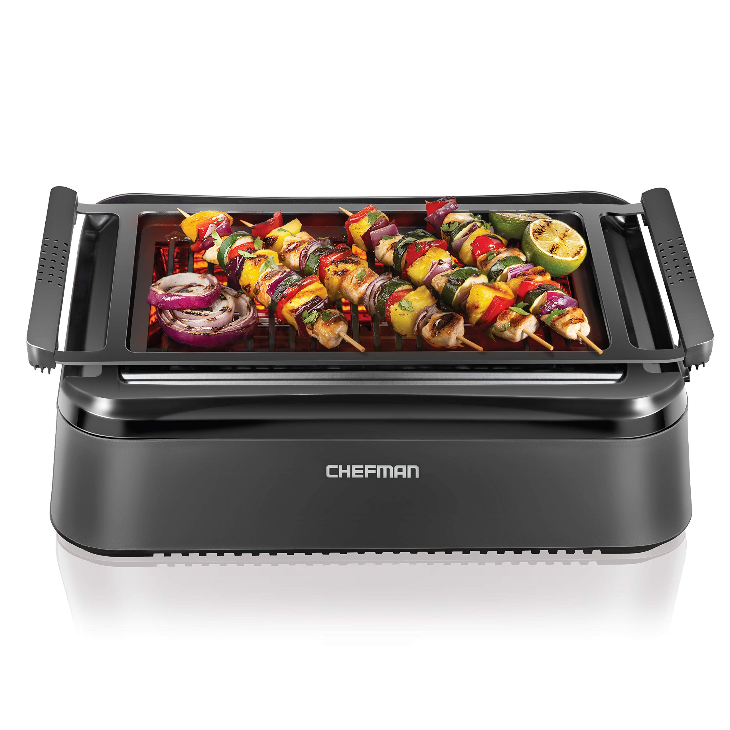 Chefman Electric Smokeless Temperature Dishwasher Safe