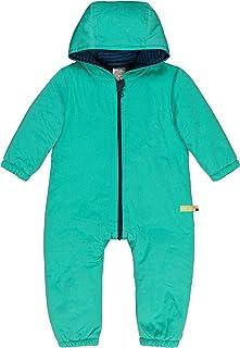 Loud + Proud Wasserabweisender, Wattierter Overall Aus Bio Baumwolle, Gots Zertifiziert Combinaison De Neige Mixte bébé