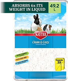 Best Kaytee Clean & Cozy White Small Animal Bedding Review