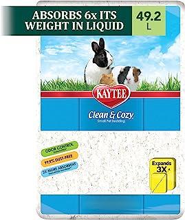 Kaytee Clean & Cozy White Bedding 49.2 Litre, White