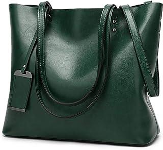 ROSCN Handtaschen Damen Shopper Tasche Tragetasche Damen Schultertasche Groß Designer Elegant Ümhängetasche Henkeltasche H...