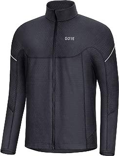 GORE WEAR M Men's Thermo Long Sleeve Shirt, XL, black