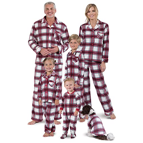 9a34c96382 PajamaGram Christmas Pajamas for Family - Fleece Matching Pajamas