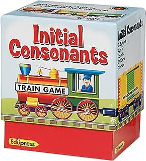 Edupress Phonics Train Game, Initial Consonants (EP62594)