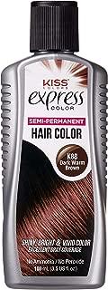 Kiss Express Color #K88 Semi-Permanent Dark Warm Brwn 3.5 Ounce (103ml)