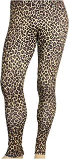 animal print spandex pants
