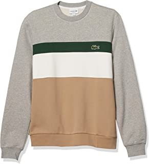 Men's Colorblocked Stripe Crewneck Sweatshirt