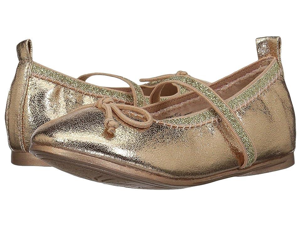Kenneth Cole Reaction Kids Copy Tap 2 (Toddler/Little Kid) (Rose Metallic) Girls Shoes