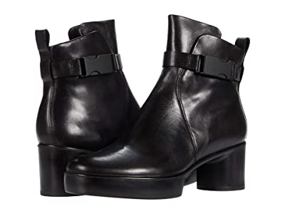 ECCO Shape Sculptured Motion 35 Buckle Boot (Black) Women