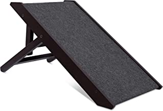 Internet's Best Small Adjustable Pet Ramp - Small Dog Use Only - Please Check Dimensions Before Buying