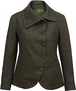 HIDEPARK Oban : Women's Green Tweed Jacket