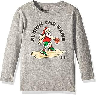 Under Armour Boys' Long Sleeve Graphic Tee Shirt