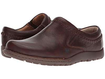 Born Nigel Clog (Brown Full Grain Leather) Men