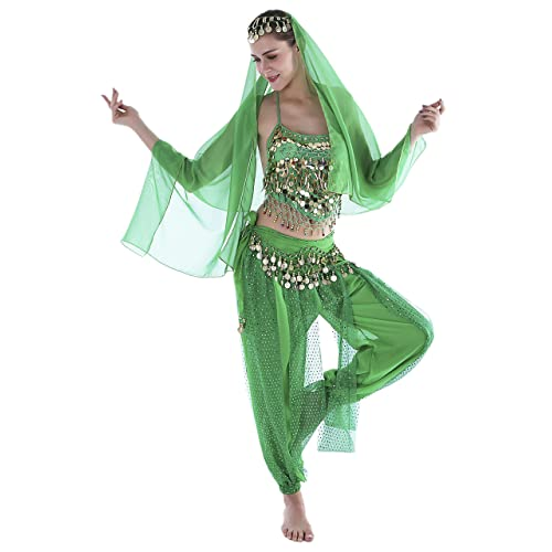 3a2d70b8b170 Seawhisper 12 Colors Belly Dance Costumes India Dance Outfit Halloween
