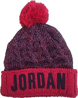 Jordan Boy`s Cable Knit Pom Beanie