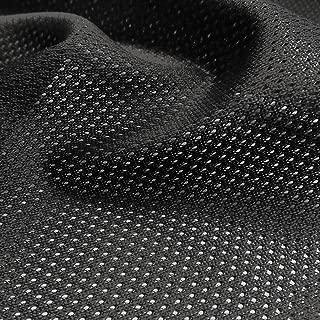 Black Micro Mesh Jersey Fabric - 60