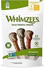 Whimzees Natural Grain Free Dental Dog Treats