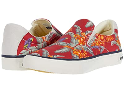 SeaVees Hawthorne Slip-On Magnum (Red Jungle Bird) Women