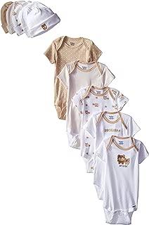 Gerber Baby Girls' 10 Piece Onesies and Cap Bundle