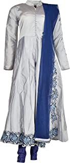 Kashmir Creations Women's Silk Salwar Suit Set