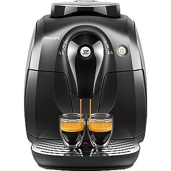Philips Serie 2000 HD8650/01 - Cafetera Súper Automática, 1 Bebidas de Café, Molinillo Ceramico: Amazon.es: Hogar