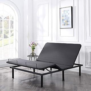 Classic Brands Adjustable Comfort Affordamatic 2.0 Adjustable Bed Base, Queen, Black