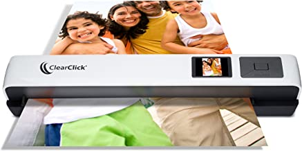 ClearClick Photo & Document Scanner with 1.45