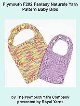 Plymouth F202 Fantasy Naturale Yarn Pattern Baby Bibs (I Want To Knit)