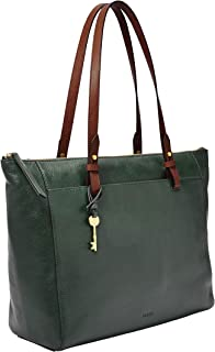 Fossil Rachel Leather 35.56 cms Green Gym Tote (ZB7507366)