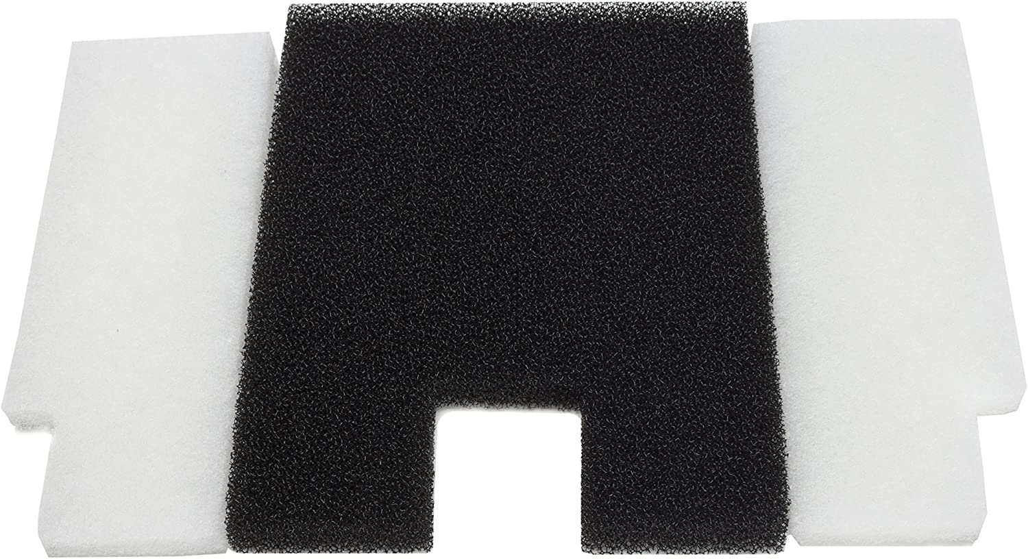 LTWHOME Combo Pack of Coarse Foam Poly Pad New Designed Material Fit for Pondmaster Danner 19012195 (Pack of 3sets)