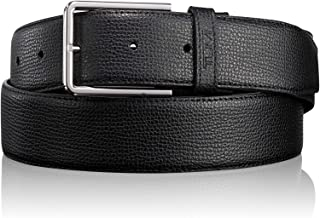 TUMI - Textured Leather Reversible Belt for Men