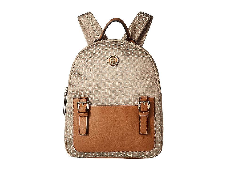 Tommy Hilfiger Imogen Backpack (Khaki/Tonal) Backpack Bags