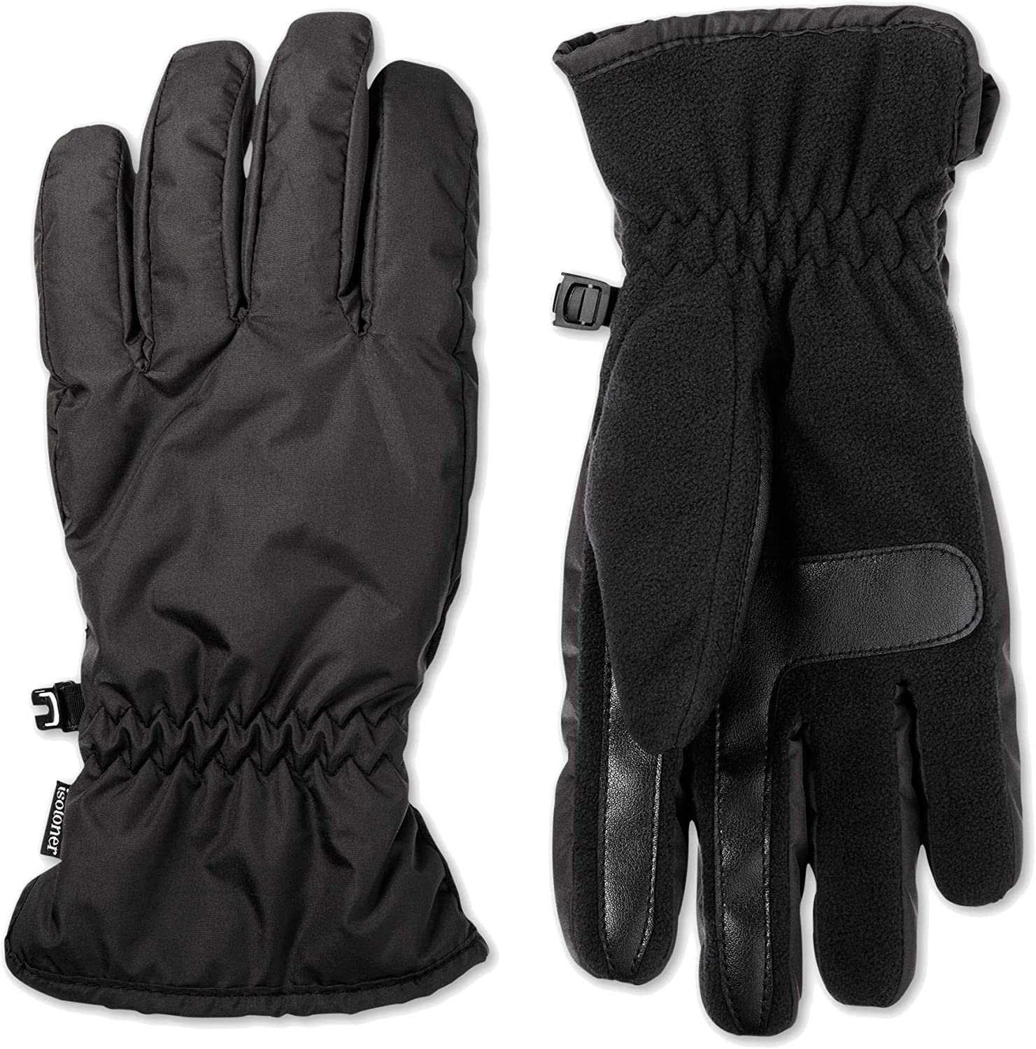 Isotoner Mens Smart Dri Max 56% OFF Fleece Gloves Winter Lined Milwaukee Mall Touch Screen