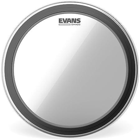 Parche hidráulico transparente para bombo de 22 pulgadas (559 mm) EMAD2 de Evans