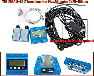 HFBTE TUF-2000M+TS-2 Ultrasonic Flow Meter Flowmeter Module DN25~100mm TS-2 Transducer