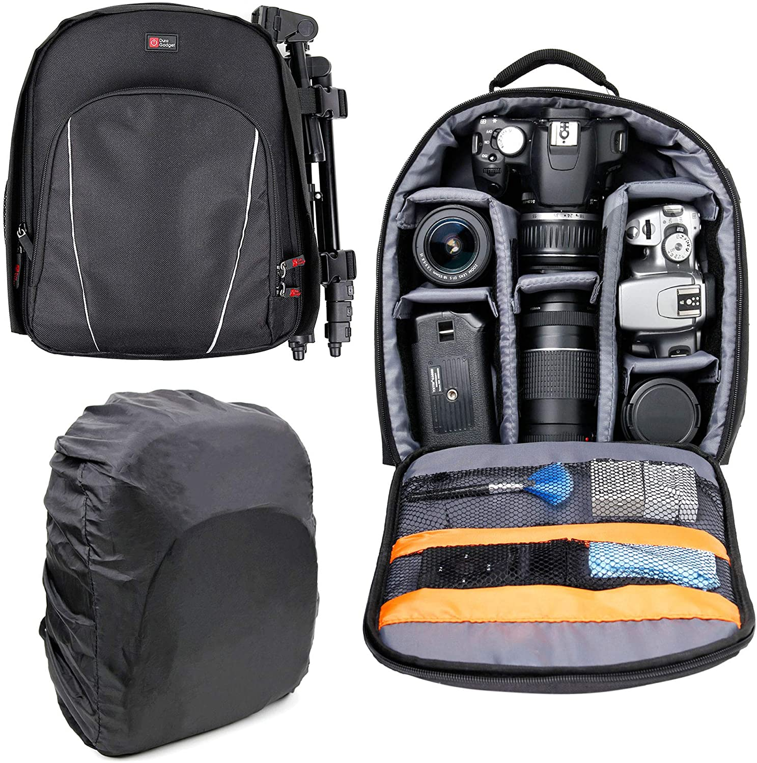 DURAGADGET 14 inch San Francisco Mall Padded Camera for case Rucksack Cano Backpack Inexpensive