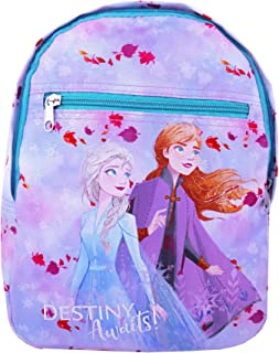 "Disney Frozen 2""Destiny Awaits"" Anna And Elsa Girls Character Backpack (One Size)"