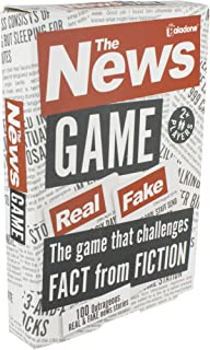 Paladone The News Game - Fact or Fiction Quiz Game
