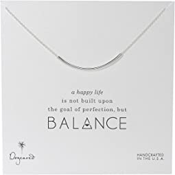 Balance Tube Necklace Sterling