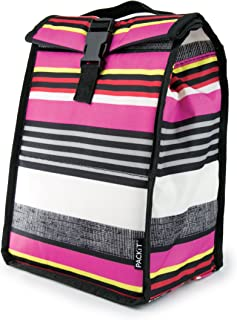 PackIt Freezable Rolltop Lunch Bag, Shauna Stripe