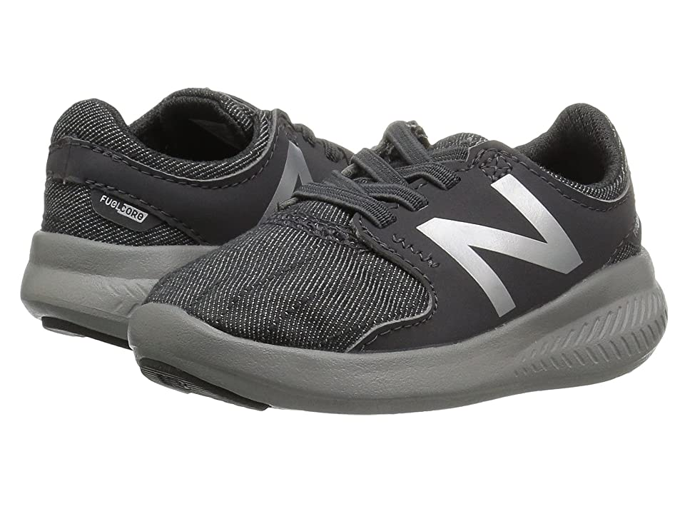 New Balance Kids KACSTv3I (Infant/Toddler) (Grey/Metallic) Boys Shoes