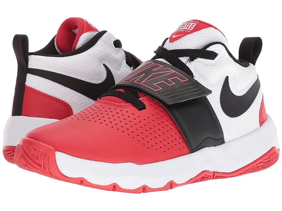 Nike Kids Team Hustle D8 (Big Kid) (University Red/Black/White) Boys Shoes