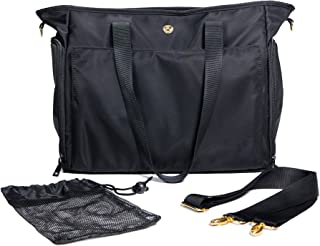 Zohzo Lauren Breast Pump Bag - Portable Tote Bag Great for Travel or Storage ? Includes Padded Laptop Sleeve - Fits Most M...